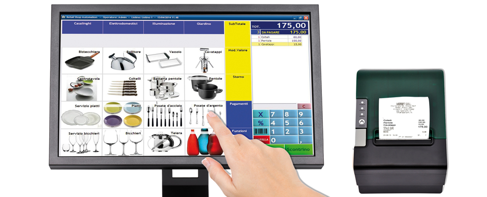 Easy Retail Shop Automation